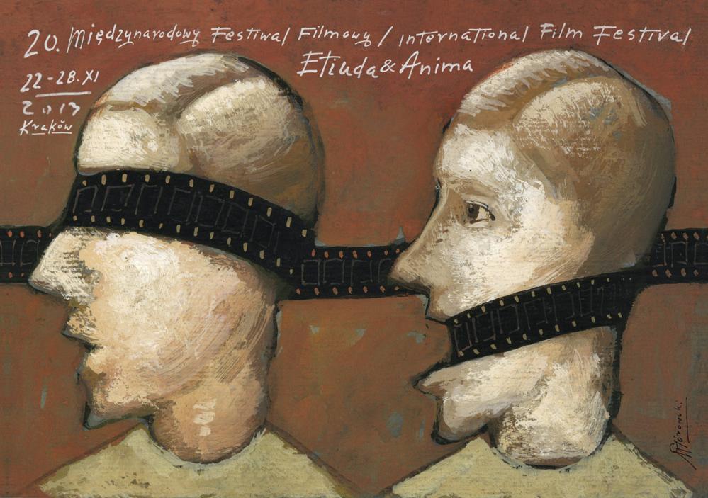 20. MFF Etiuda&Anima w Krakowie, plakat (źródło: materiały prasowe)