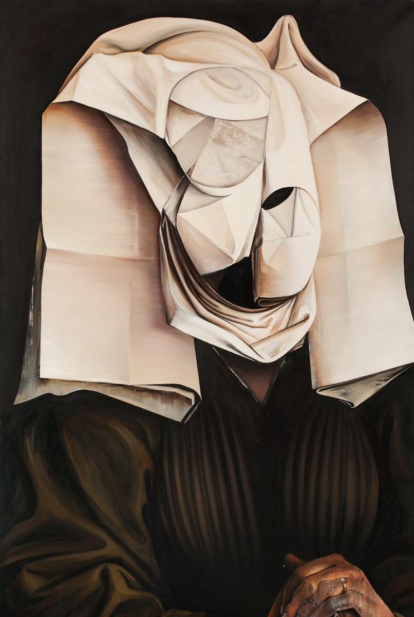 """Grand Prix, Ewa Juszkiewicz, """"Bez tytułu / według Rogiera van der Weydena"""", fot. Jacek Rojkowski (źródło: materiały prasowe organizatora)"""