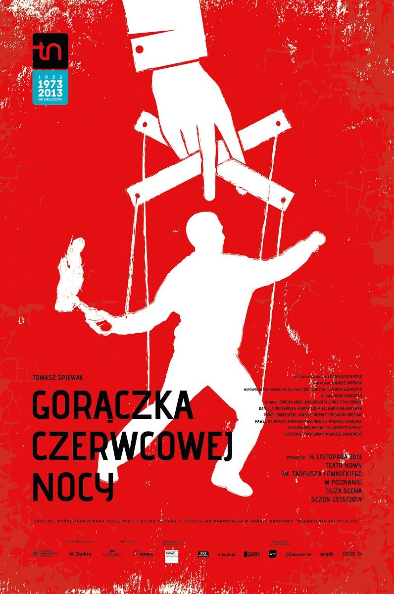 """""""Gorączka czerwcowej nocy"""", plakat (źródło: mat. prasowe)"""
