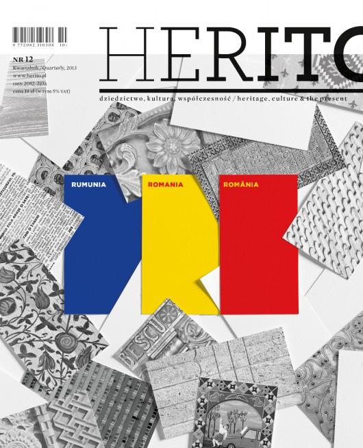 """""""Herito"""", nr 12, 2013 – okładka (źródło: materiały prasowe)"""
