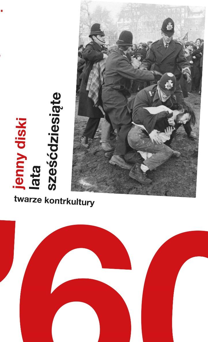"""Jenny Diski """"Lata sześćdziesiąte"""" – okładka (źródło: materiały prasowe)"""