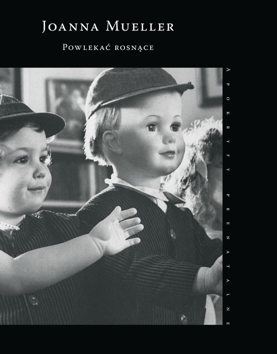 """Joanna Mueller """"Powlekać rosnące"""" – okładka (źródło: materiały prasowe)"""