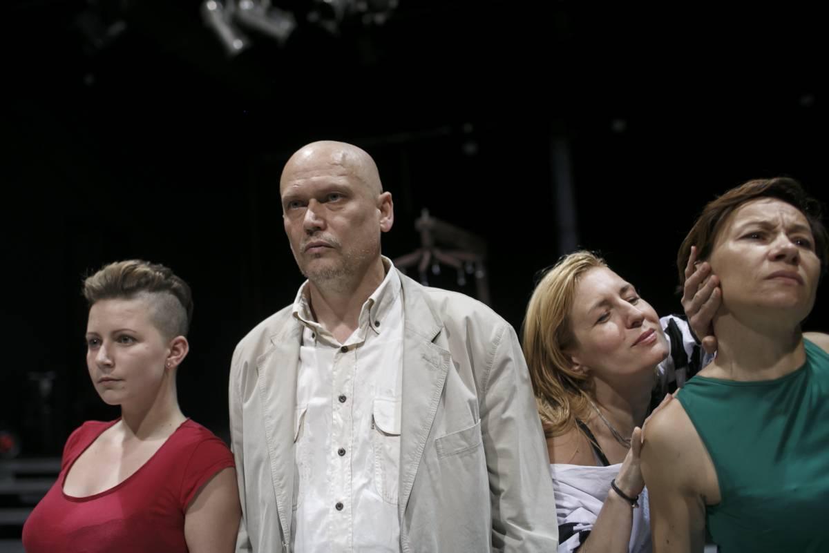 """""""Keeffe, nie jestem królem"""", reż. R. Jankowska, fot. Łukasz Głowala (źródło: materiały prasowe)"""