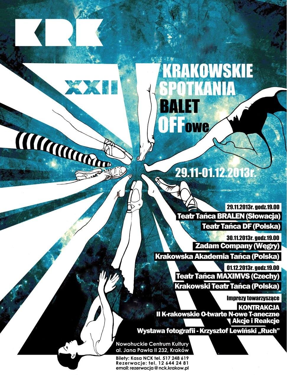 XXII Krakowskie Spotkania Baletoffowe (źródło: mat. organizatora)