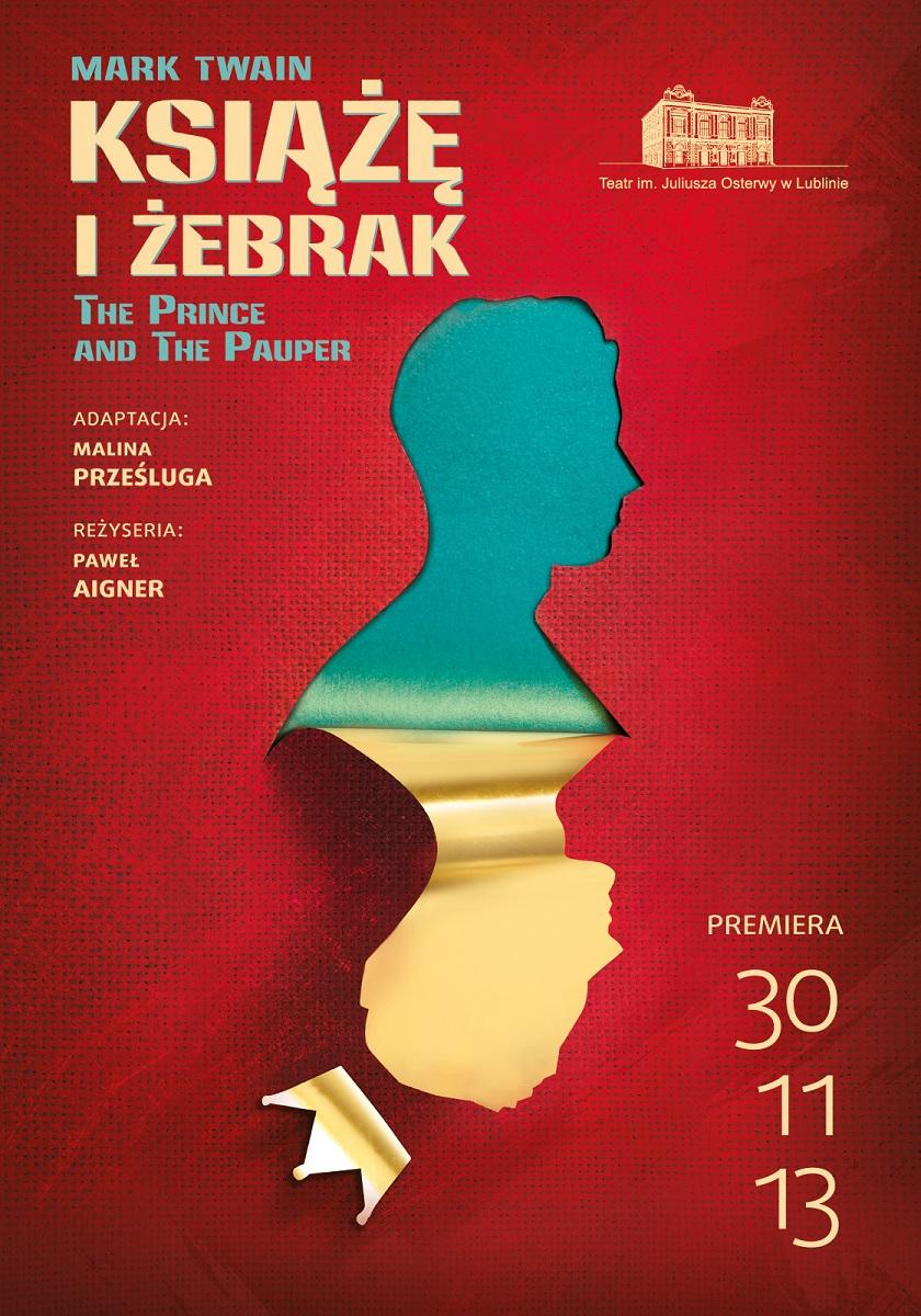 """""""Książę i żebrak"""", plakat (źródło: mat. prasowe)"""