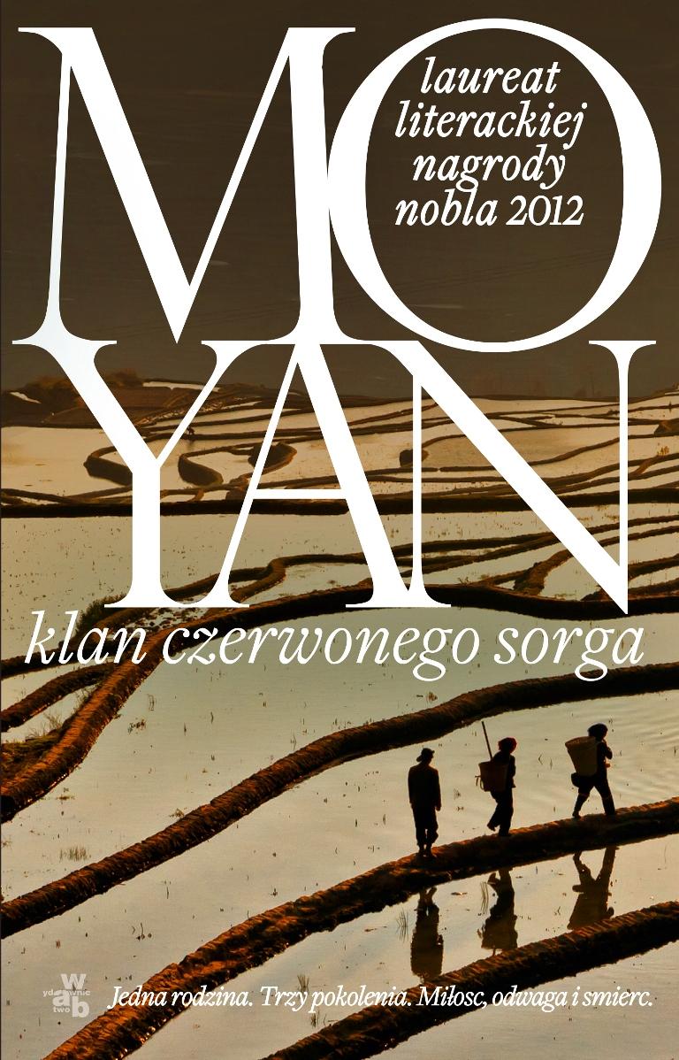 """Mo Yan """"Klan czerwonego sorga"""" – okładka (źródło: materiały prasowe)"""