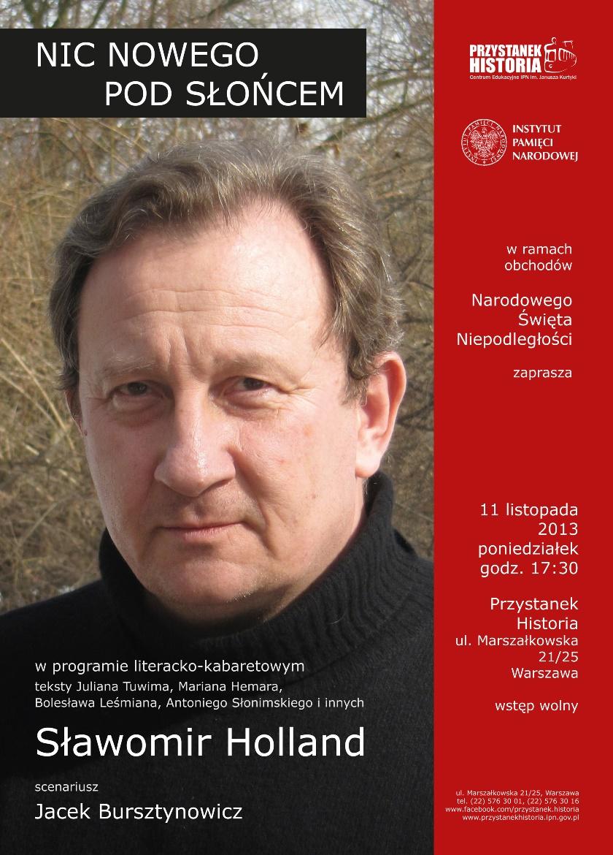 """""""Nic nowego pod słońcem"""" – plakat (źródło: materiały prasowe)"""