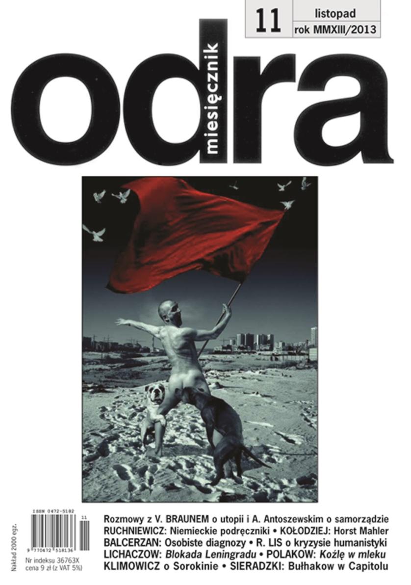 """""""Odra"""", nr 11 – okładka (źródło: materiały prasowe)"""