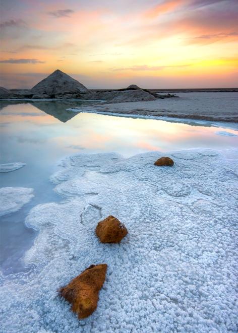 Fot. Petar Sabol, Słone jezioro (Chott El Jerid), Tunezja (źródło: materiały prasowe organizatora)