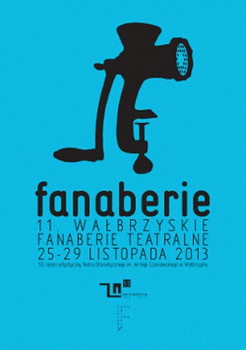 Wałbrzyskie Fanaberie Teatralne, plakat (źródło: mat. organizatora)