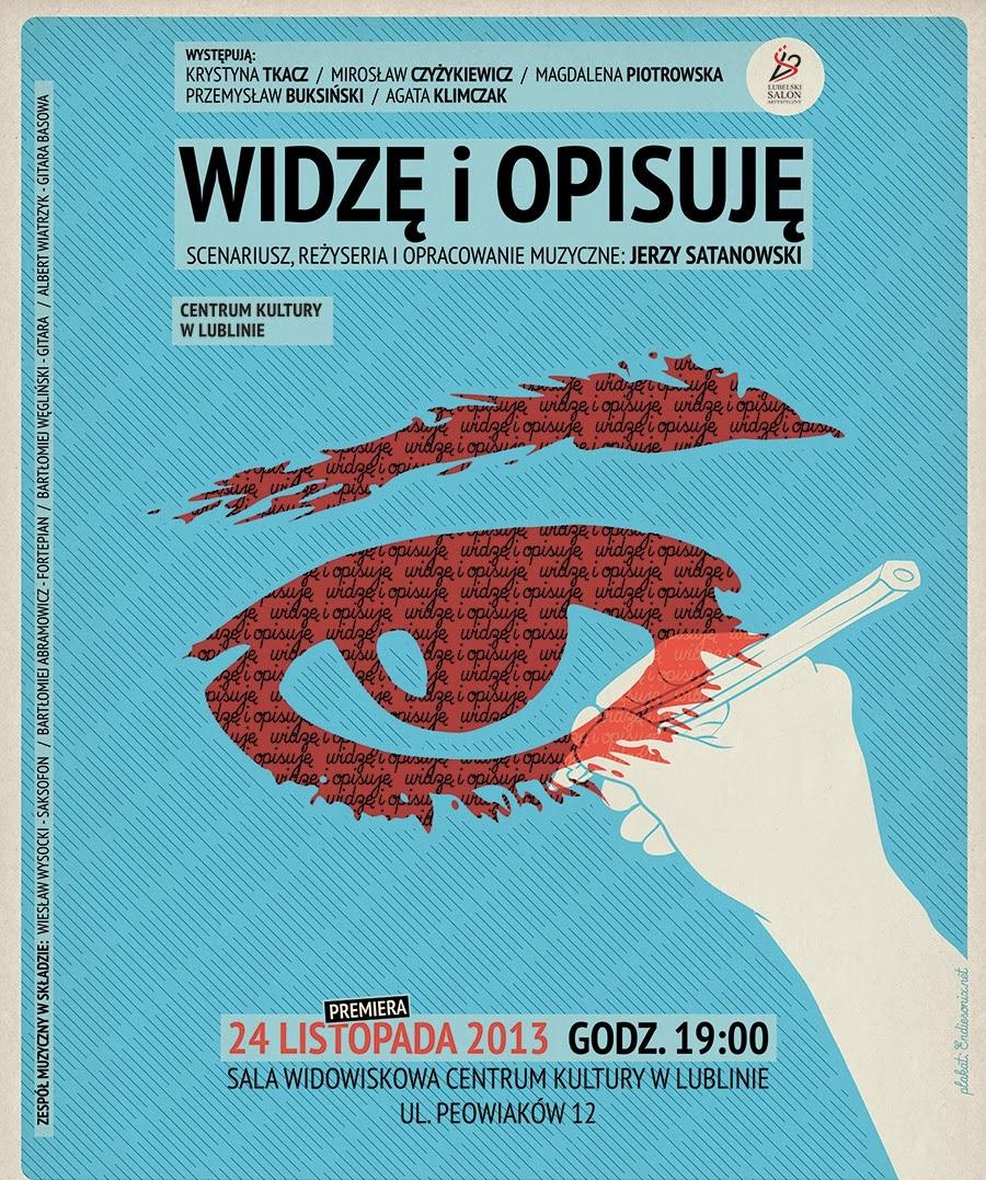 """""""Widzę i opisuję"""" (źródło: mat. prasowe - Lubelski Salon Artystyczny)"""