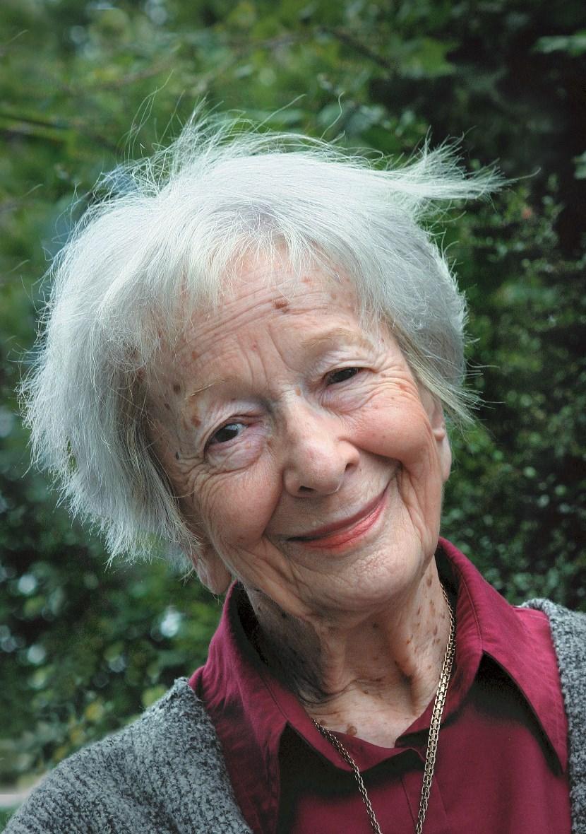 Wisława Szymborska, fot. Michał Rusinek (źródło: materiały prasowe)