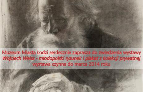 """Plakat wystawy """"Wojciech Weiss – młodopolski rysunek i plakat"""" (źródło: materiały prasowe organizatora)"""