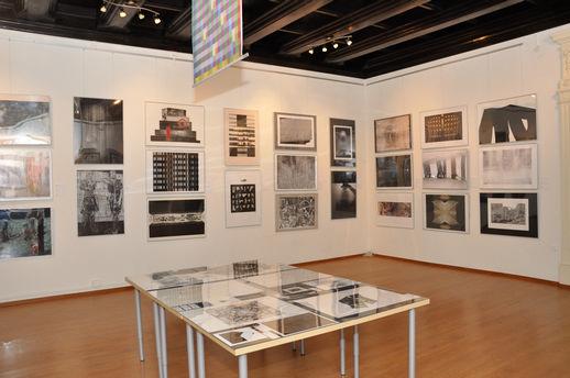 1. wystawa członków, Międzynarodowe Centrum Sztuk Graficznych w Krakowie, archiwum SMTG (źródło: materiały prasowe organizatora)