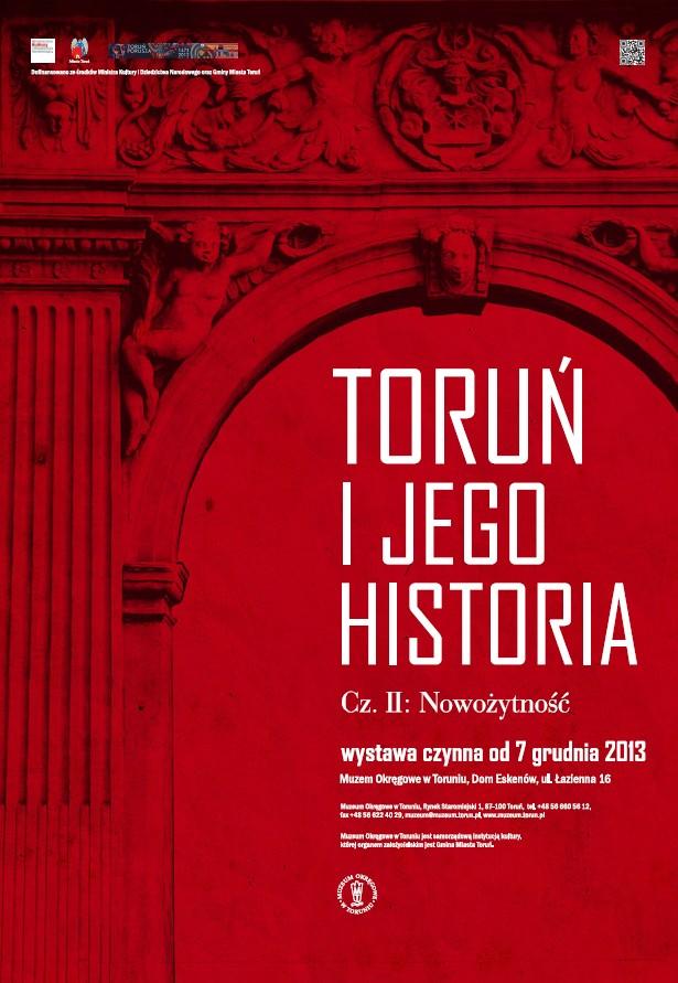 """""""Toruń i jego historia"""" – plakat (źródło: materiały prasowe)"""