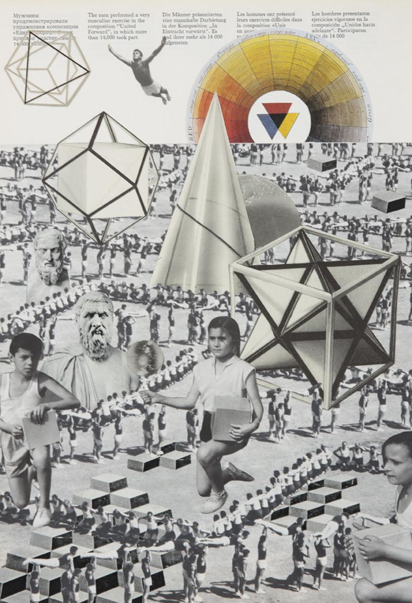 """Daria Malicka, """"Model doskonały"""", kolaż, 2013 (źródło: materiały prasowe organizatora)"""