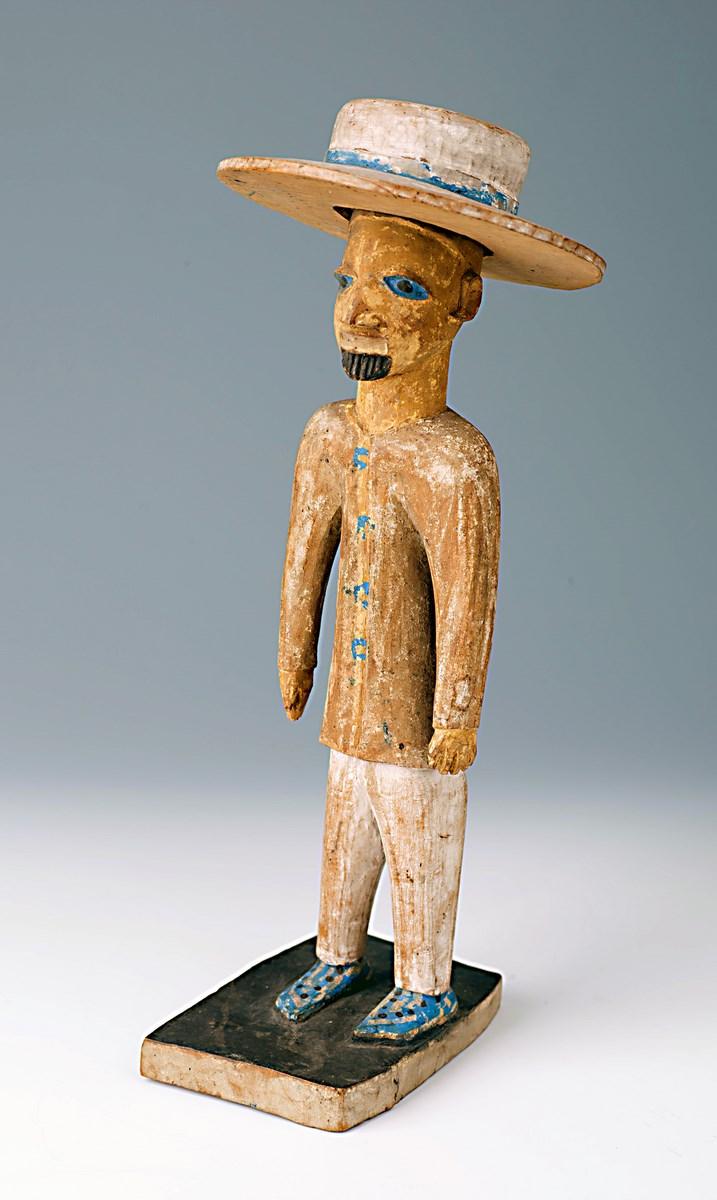 Figurka z postacią Europejczyka, Muzeum Etnograficzne w Krakowie (źródło: materiały prasowe organizatora)
