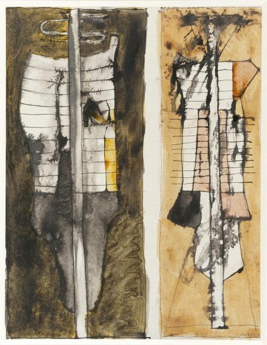 """Jan Lebenstein, """"Podwójne figury osiowe"""" (źródło: materiały prasowe organizatora)"""