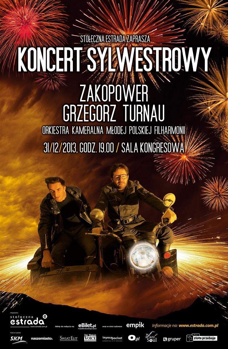Koncert sylwestrowy - Grzegorz Turnau z Zespołem & Zakopower, plakat (źródło: mat. prasowe)