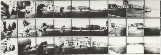 Włodzimierz Borowski, Świdziński, Krzysztof Wodiczko, Akcja w przestrzeni / Action in Space, Warszawa / Warsaw 1972 (źródło: materiały prasowe organizatora)