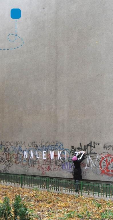 """Zaproszenie na wystawę """"Migrujące ulice Muranowa"""" (źródło: materiały prasowe organizatora)"""