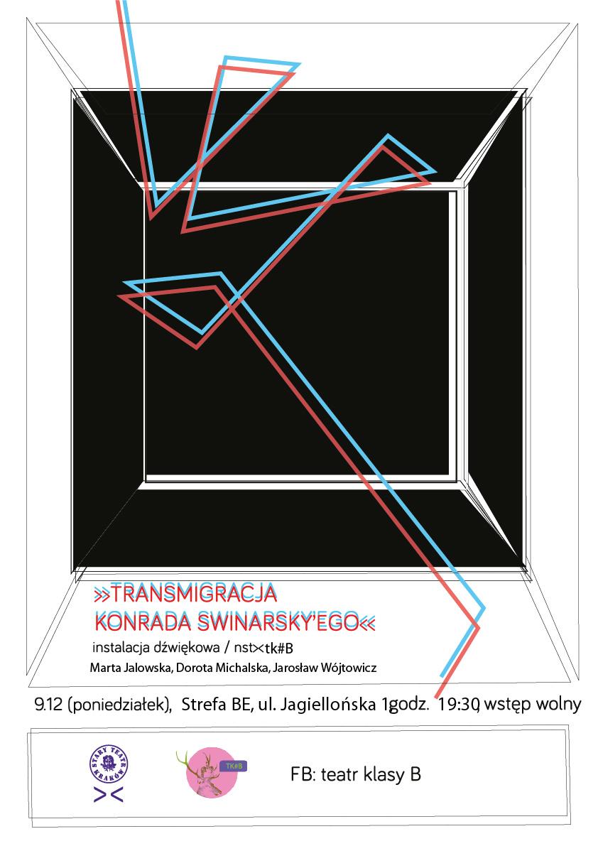 """""""Transmigracja"""", plakat (źródło: mat. prasowe)"""