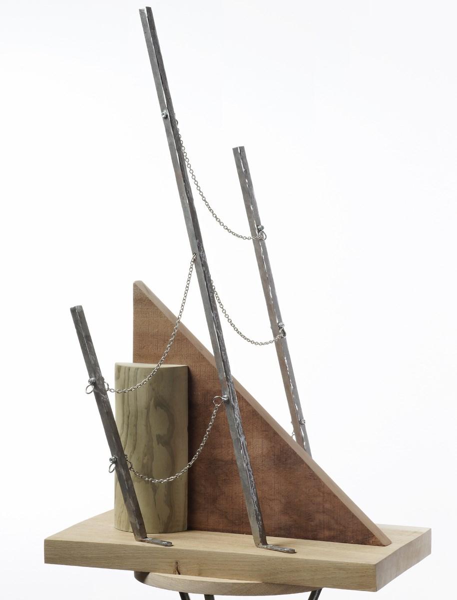"""Yan Tomaszewski, 2013 – Mieczysław Szczuka, """"Konstrukcja przestrzenna"""", 1922, fotografia: Aurélien Mole (źródło: materiały prasowe organizatora)"""