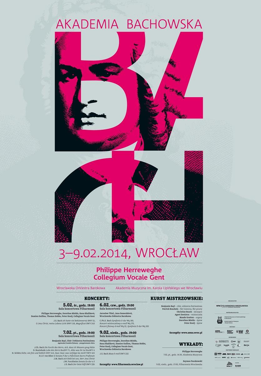 Akademia Bachowska, plakat (źródło: mat. prasowe)