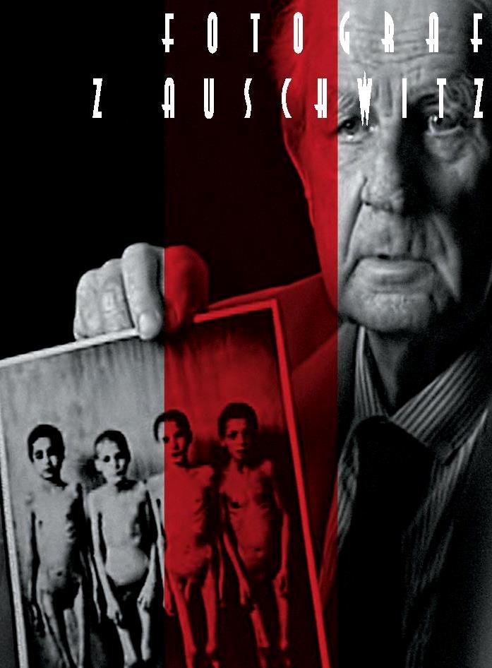 """""""Fotograf z Auschwitz"""" – ulotka (źródło: materiały IPN w Krakowie)"""