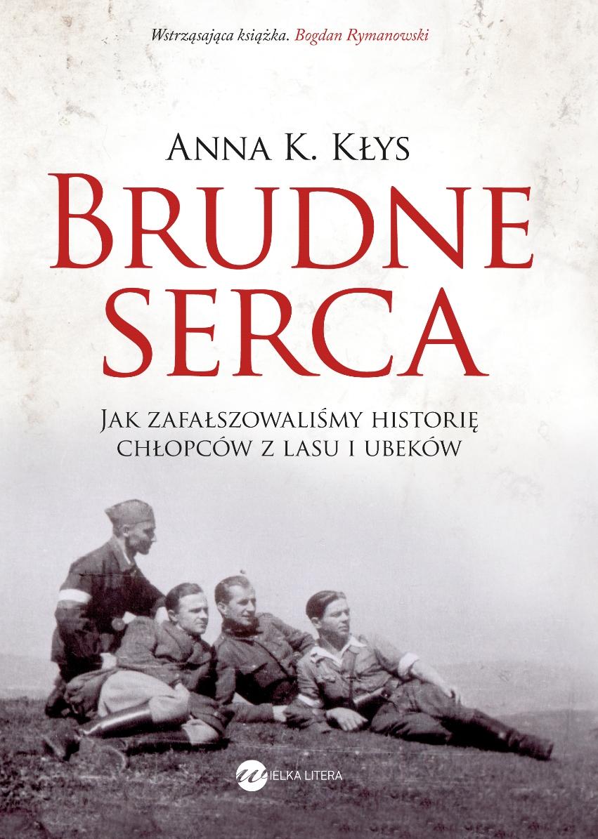 "Anna K. Kłys ""Brudne serca"" – okładka (źródło: materiały prasowe)"
