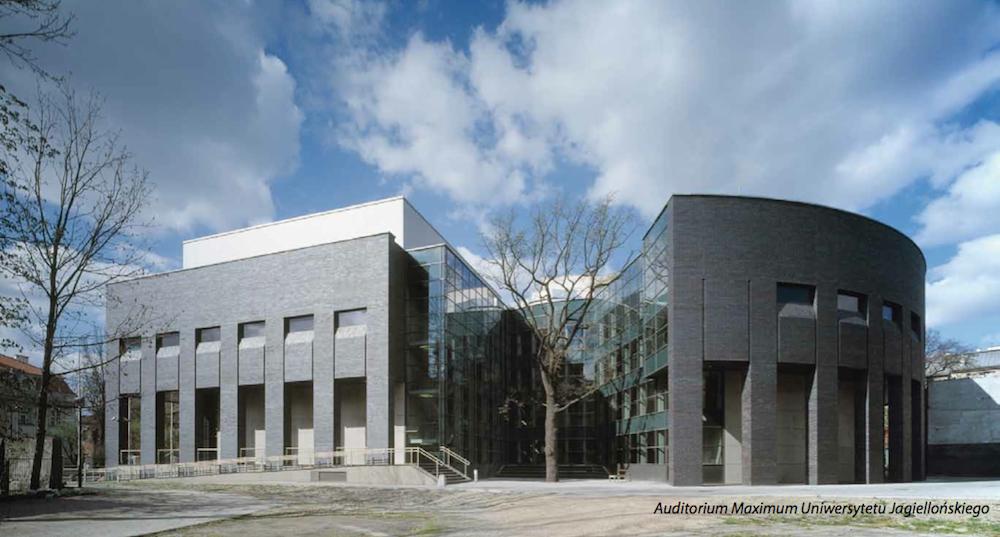 Auditorium Maximum Uniwersytetu Jagiellońskiego w Krakowie, proj. Stanisław Deńko (źródło: materiały prasowe organizatora)