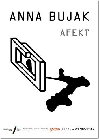 """A. Bujak, """"Afekty"""" – plakat (źródło: materiały prasowe)"""