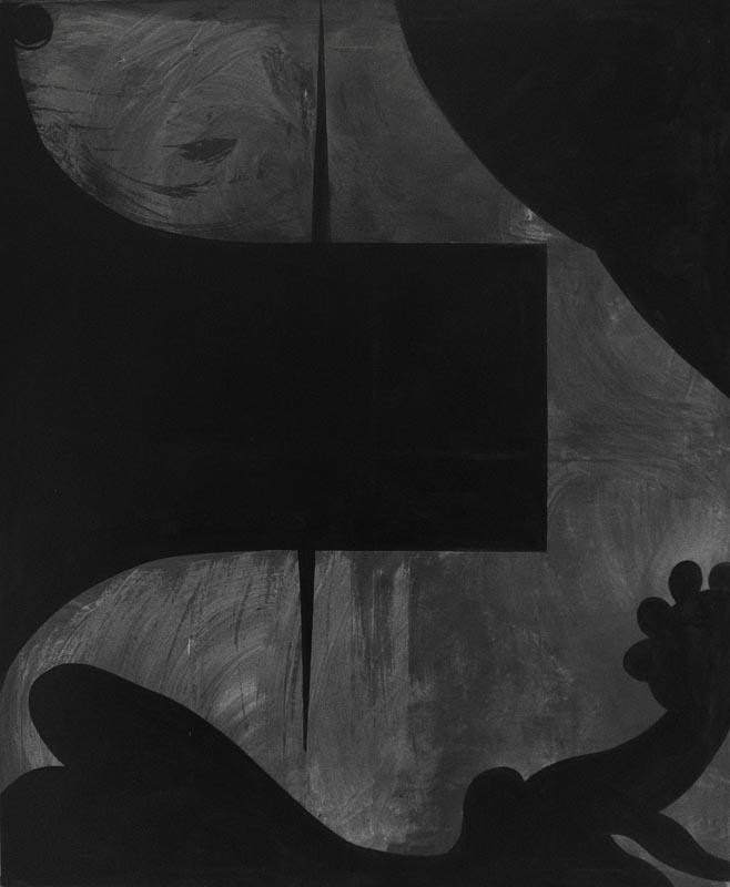 Cezary Poniatowski, Bez tytułu, 170cm x 140cm, akryl, 2013 (źródło: materiały prasowe organizatora)