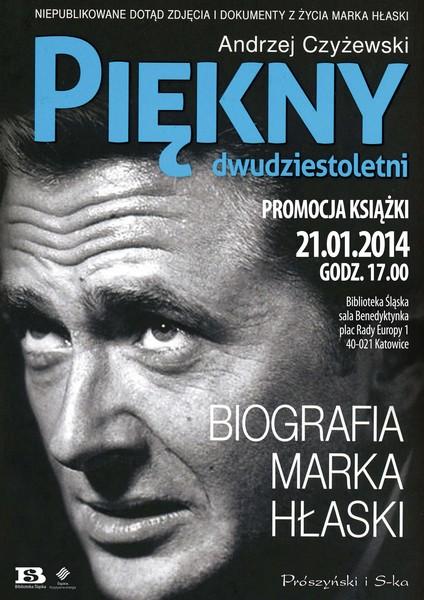 Spotkanie wokół książki A. Czyżewskiego, plakat (źródło: materiały prasowe)