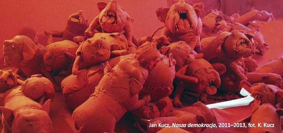 """Jan Kucz, """"Nasza demokracja"""", 2011-2013, fot. K. Kucz (źródło: materiały prasowe organizatora)"""