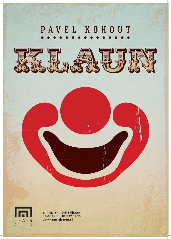 """""""Klaun"""", plakat (źródło: mat. prasowe)"""