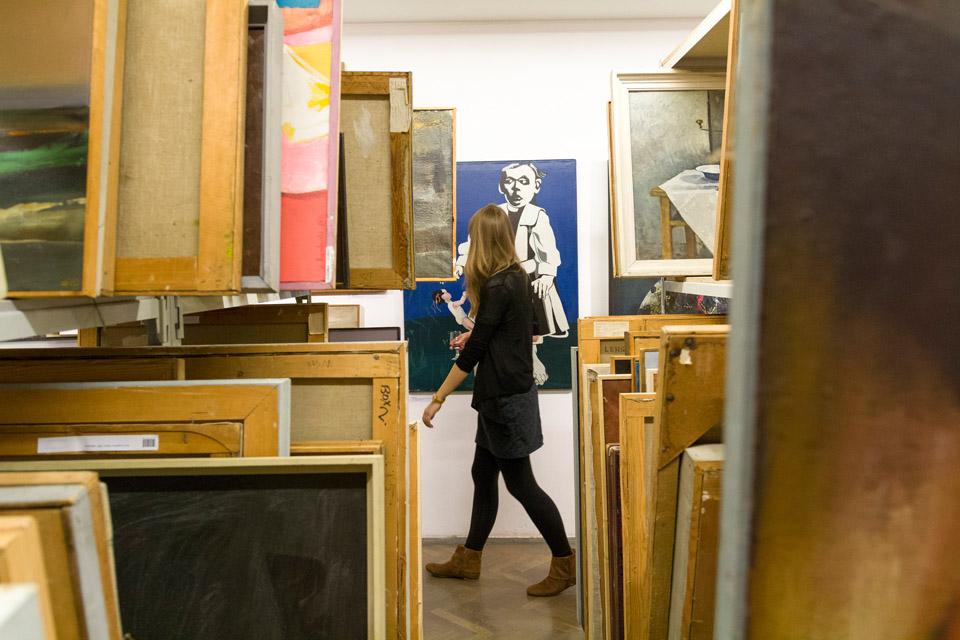 """Wystawa """"Materialność i wartość dzieła sztuki"""", Galeria Arsenał w Białymstoku (źródło: materiały prasowe organizatora)"""