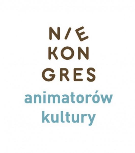 NieKongres Animatorów Kultury w Warszawie, logo (źródło: materiały prasowe)