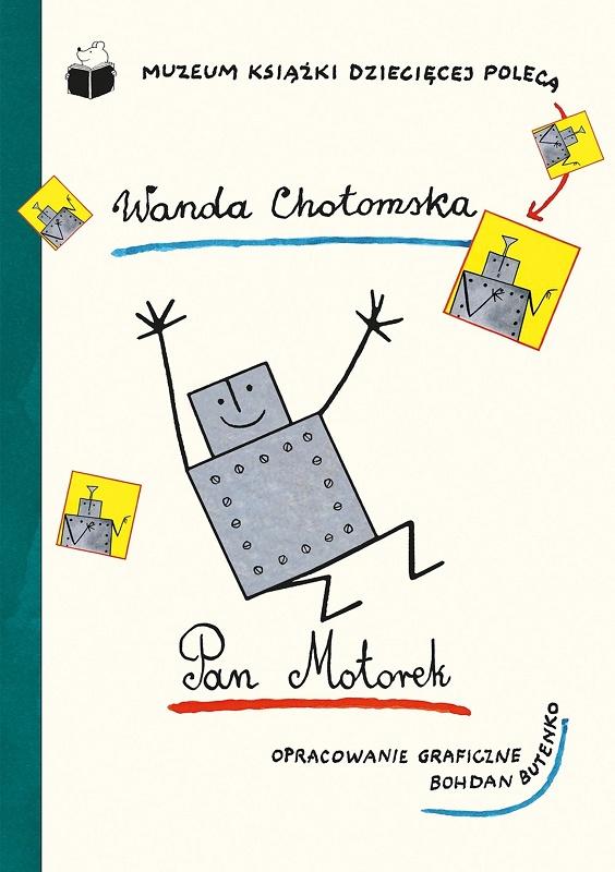 """W. Chotomska, """"Pan Motorek"""", okładka (źródło: materiały prasowe)"""