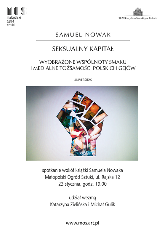 """Samuel Nowak """"Seksualny kapitał"""" – plakat (źródło: materiały prasowe)"""