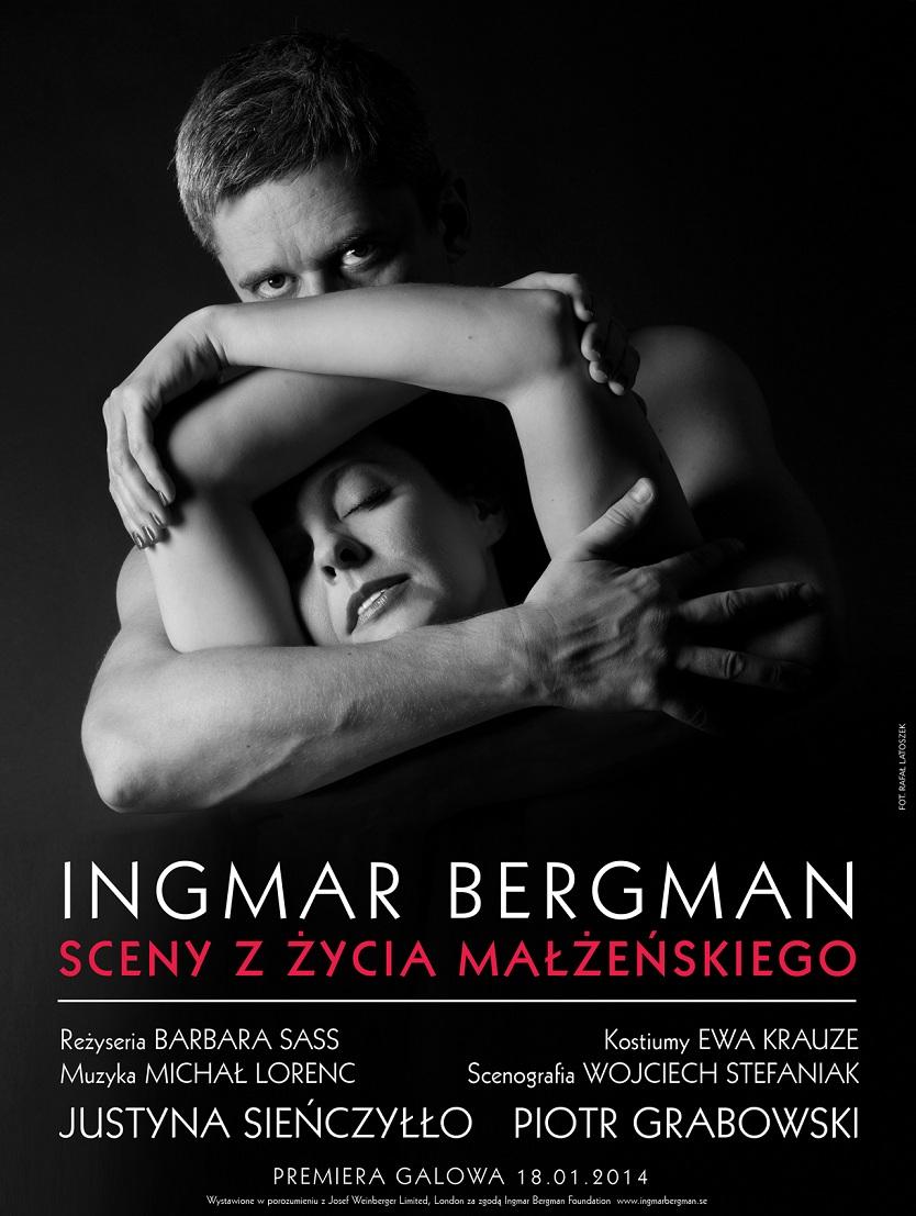 """""""Sceny z życia małżeńskiego"""", plakat projektu Rafała Latoszka (źródło: mat. prasowe)"""