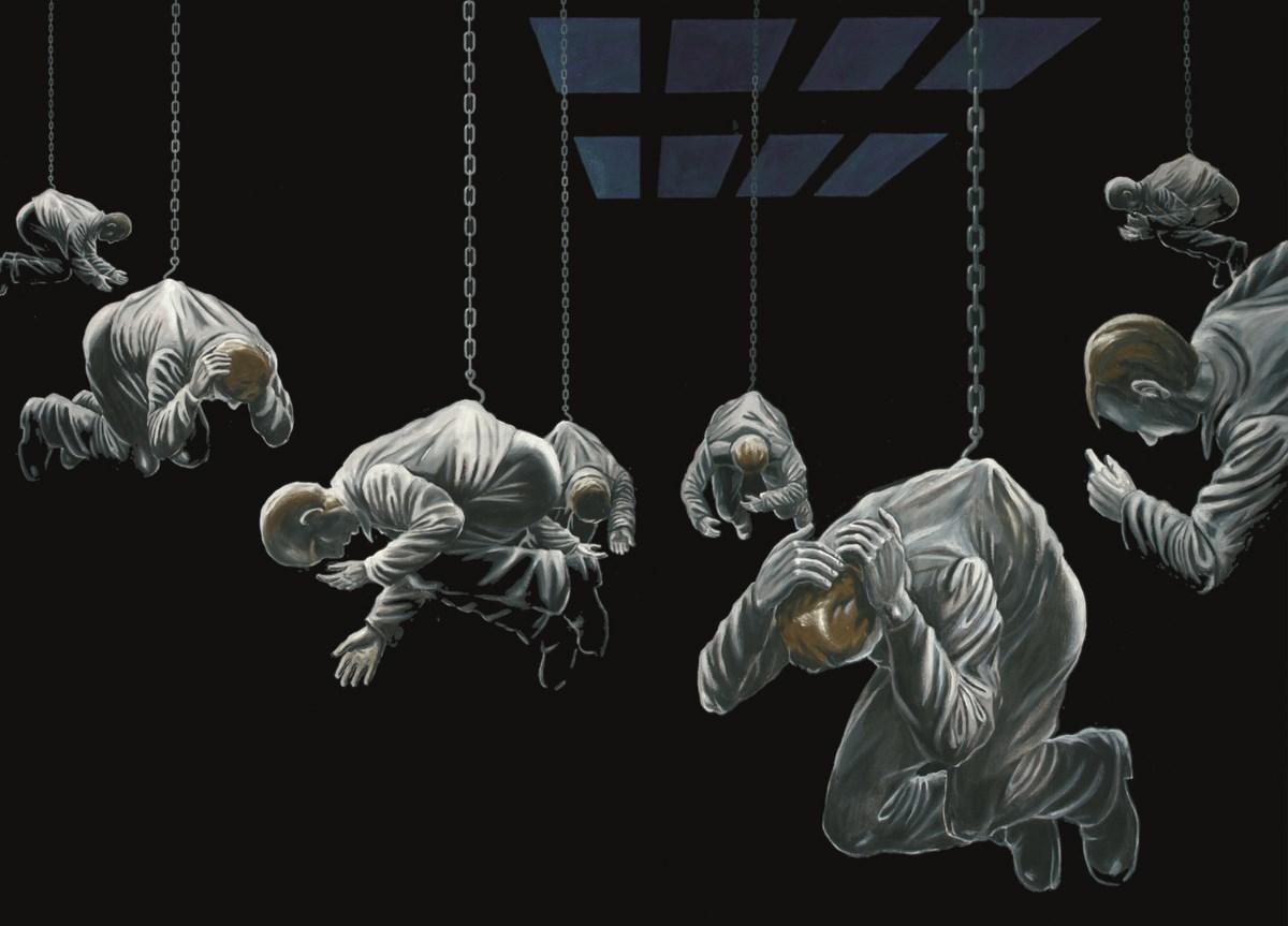 """Sławomir Lewczuk, """"Cechownia"""", z cyklu """"Symptomy"""", 2010 (źródło: materiały prasowe organizatora)"""