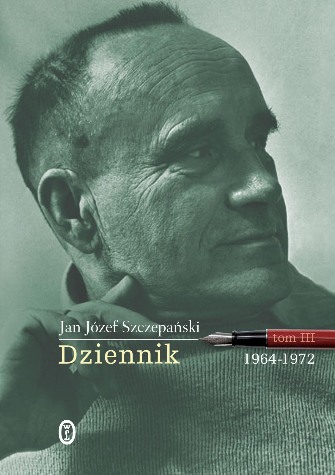 """J.J. Szczepański """"Dziennik"""", okładka (źródło: materiały prasowe wydawnictwa)"""