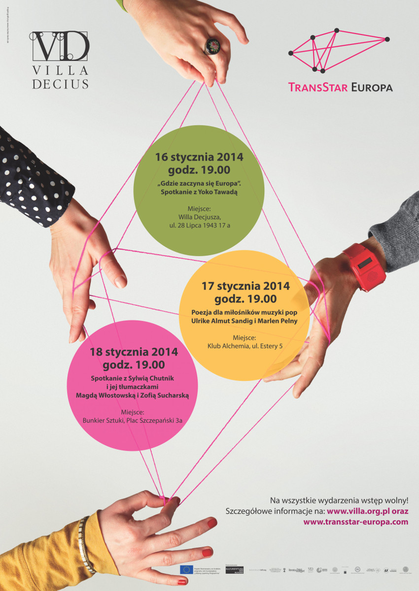 TransStar Europa, spotkanie w Krakowie, plakat (źródło: materiały prasowe)