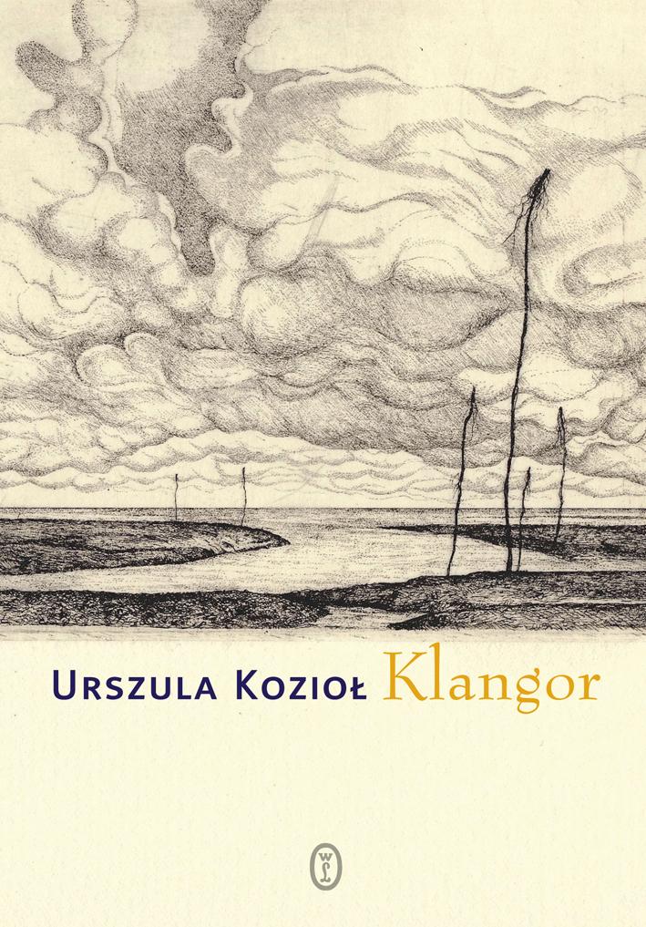 """Urszula Kozioł """"Klangor"""" – okładka (źródło: materiały prasowe)"""