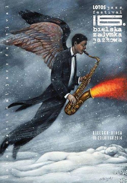 16 Bielska Zadymka Jazzowa, plakat (źródło: mat. prasowe)