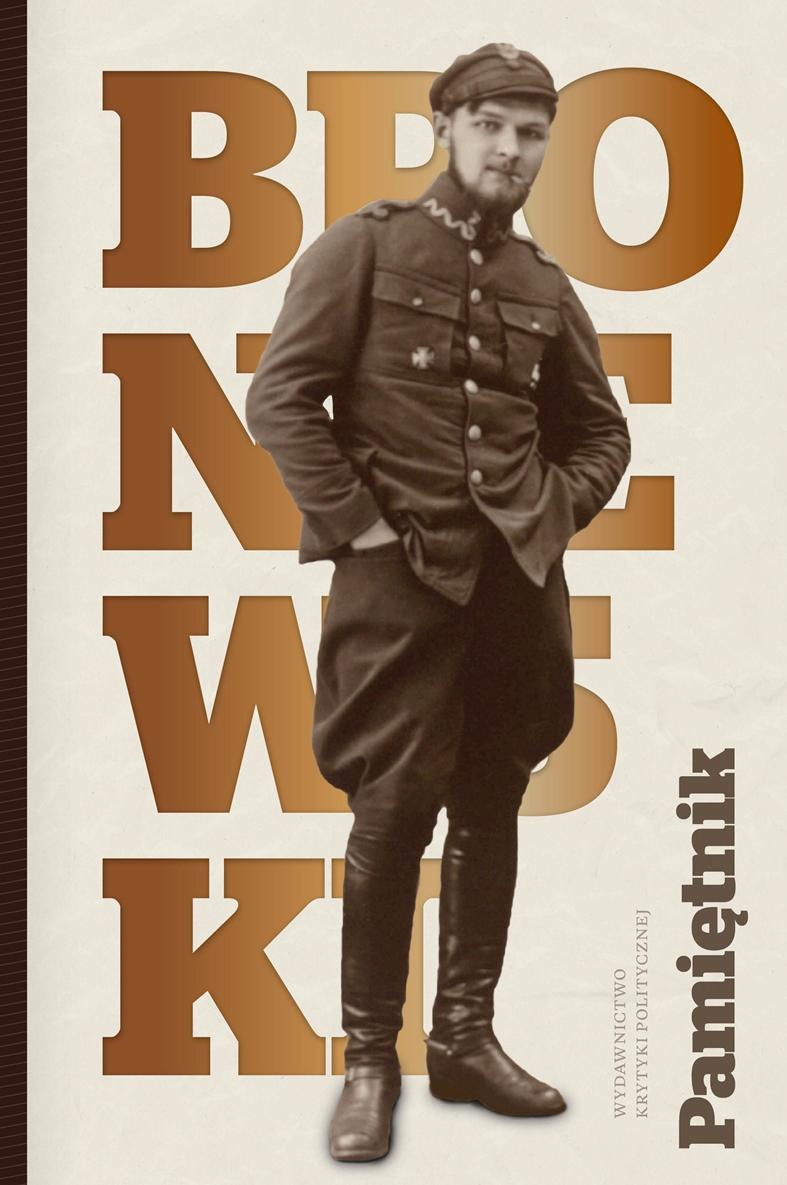 """Władysław Broniewski """"Pamiętnik"""" – okładka (źródło: materiały prasowe)"""