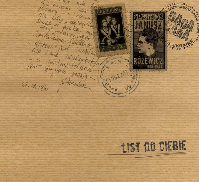 """Dagadana, """"List do Ciebie"""" – okładka (źródło: materiały prasowe)"""