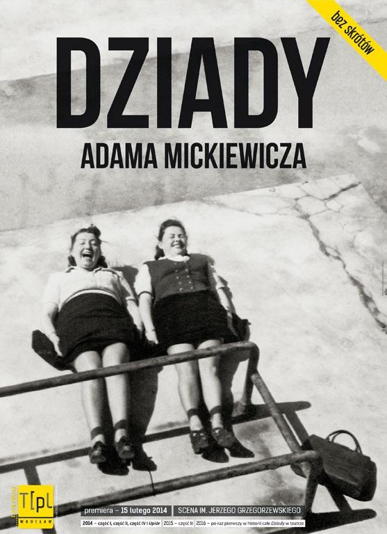 """""""Dziady"""" Adama Mickiewicza, reż. Michał Zadara (źródło: materiały prasowe organizatora)"""