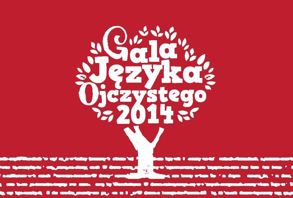 Gala Języka Ojczystego 2014, plakat (źródło: materiały prasowe)